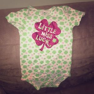 March baby body suit